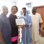 Photos: Senator David Umaru receives certificate of return