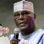 Atiku Abubakar of PDP reacts to Justice Bulkachuwa's withdrawal as chairman of the Presidential Election Tribunal