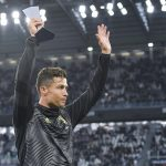 Sports: Cristiano Ronaldo receives the award for best player in Italy, as Juventus celebrate eighth successive Serie A (Photos)