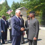 VP Yemi Osinbajo visits White house, meets US Vice president Mike Pence (photos)
