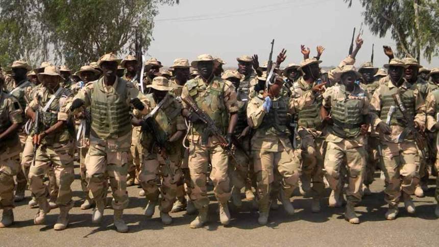 Sad: 130 soldiers placed on court martial for various offences in Borno