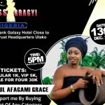 Sponsored: Aspirant For Miss Gbagyi Nigeria 2019 Get your Ticket For the Pageantry Event 13th December, 2019.