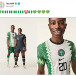 New Super Eagles jersey  kit's hand-drawn design fuses the traditional aesthetic of an agbada robe