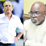 'He must live in Nigeria and be paid in Naira if not no new contract' ― Amaju Pinnick gives Gernot Rohr new contract ultimatum