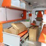 Living Faith Church donates equiped ambulance for fight against coronavirus