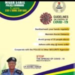#covid-19 : Comply with the new restriction order – Niger State Commissioner of police