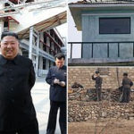 North Korea fires gunshots towards South Korea in 'show of strength that Kim Jong-un is still in control' after resurfacing amid claims he had died (photos)