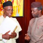 Osinbajo is the current chairman of Short People Association of Nigeria – Governor El-Rufai jokes