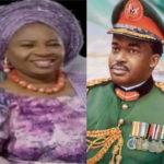 Sad:Nigeria's Ex-Chief Of General Staff, Oladipo Diya loses wife Folashade Diya