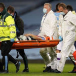 ManCity's Eric rushed to hospital after colliding with team's goal keeper