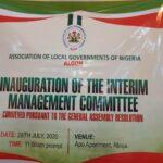 Photos/video: Hon. Abdullahi Maje of Suleja LGA, Niger State emerge as ALGON's National   chairman
