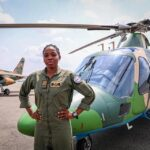 About the late first ever female combat helicopter pilot in Nigeria Air force, Arotile.