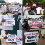 Youths in northern Nigeria    carry out rally insisting SARS must not be scrapped