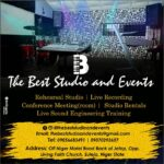 THE BEST STUDIO AND EVENTS; A digital music studio and event centre