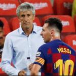 Lionel Messi is 'difficult to manage' says Ex-Barcelona coach, Quique Setien