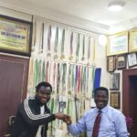 Chief Mike Ozekhome, SAN  shares deep thoughts with DrJerome PhaseOne, Abuja fast rising music artist