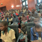 Finally, Kidnapped Katsina  schoolboys have been released and received in   Katsina state house (photos/Video)