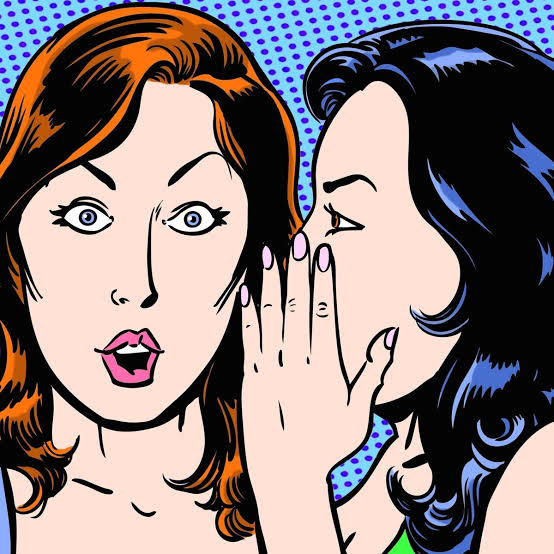 "Words In Pen: Gossip; ""who say"" – Justina Barde"