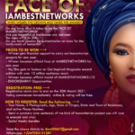 FACE OF IAMBESTNETWORKS; Registration is on-going & it's Free! Who wears the crown?