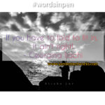 Words In Pen: If you have to fold to fit in, it ain't right! – Georgina Ijachi