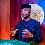 There are more opportunities for prosperity if Nigeria remains an indivisible entity – Yemi Osinbajo,vice president of Nigeria