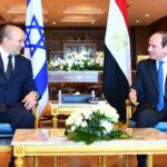 Israeli PM Bennett visits Egyptian president over Israel-Palestine conflict